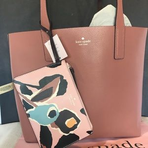 Kate Spade Arch Paper Rose Reversible Large Tote